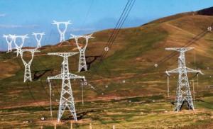 UHV lines in Inner Mongolia