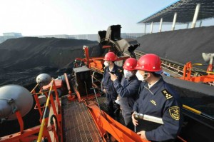 Officers of Shantou Customs were inspecting imported coal Source: http://english.customs.gov.cn/