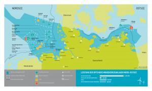 Offshore Ausbaustand_Stand 31.12.2015 @Stiftung Offshore-Windenergie