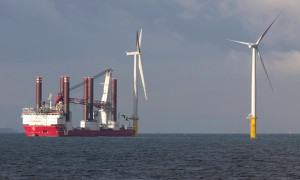 Offshore Windpark Konstruktion