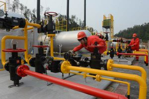 Gas transport facility Chongqing (China Daily)