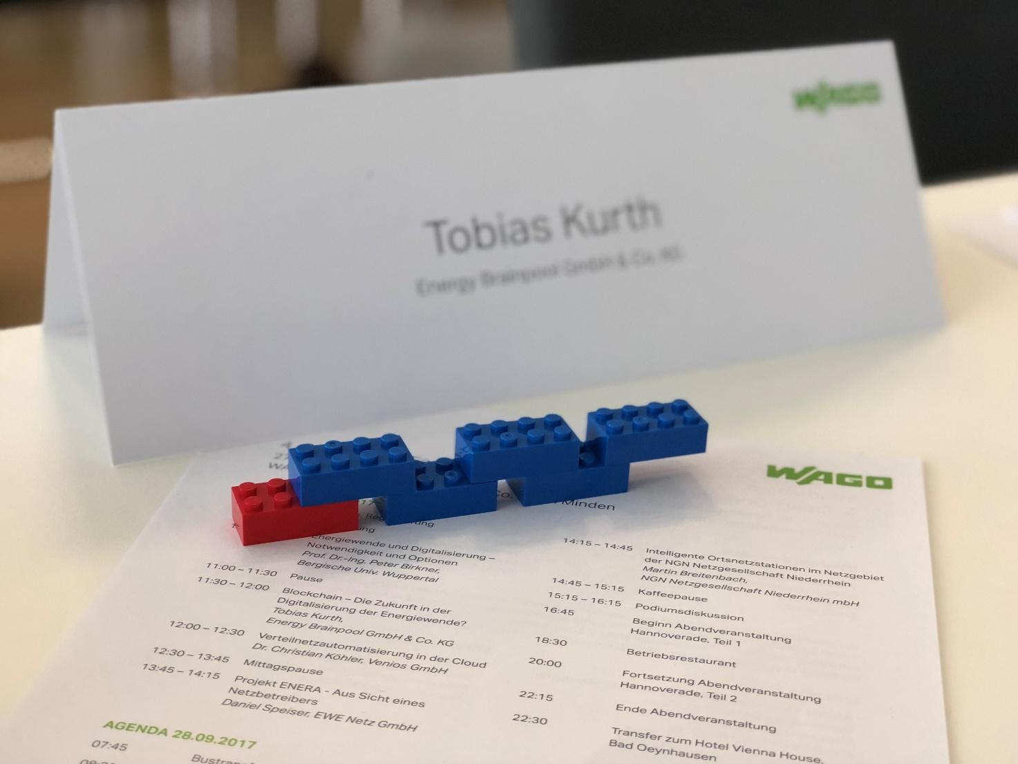 Tobias Kurth bei der 4. Smart-Grid-Fachtagung von WAGO Kontakttechnik