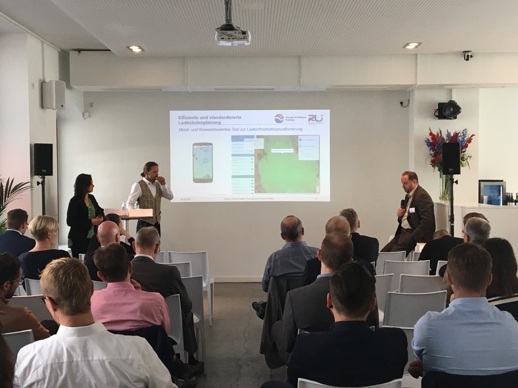 Katrin Hübner und Oliver Arnhold – Reiner Lemoine Institute (Quelle: Energy Brainpool)