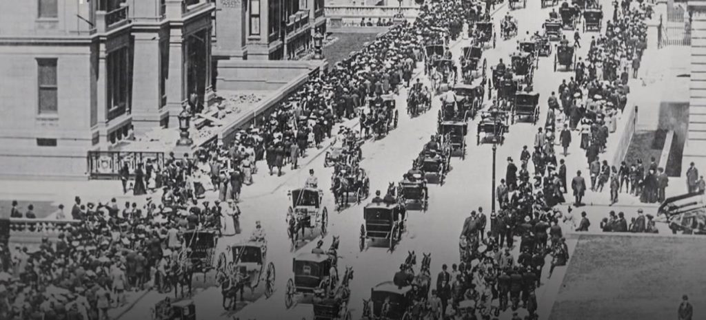 Figure 1: 5. Avenue New York City 1900 (Source: BR Alpha)