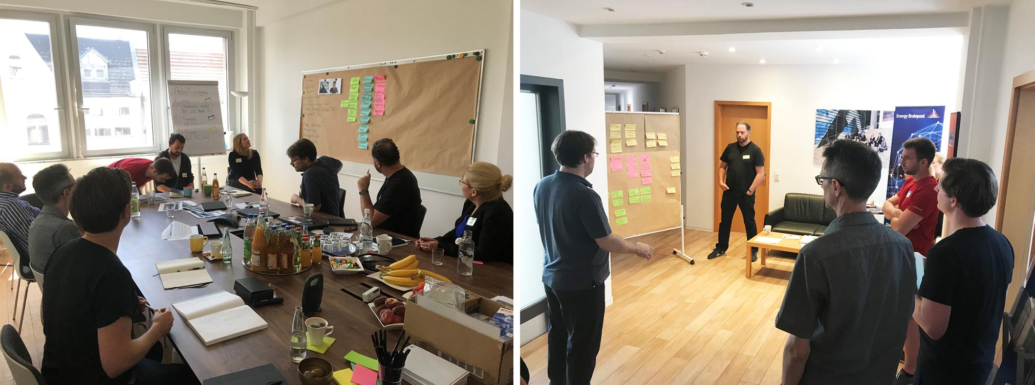 Fig. 5: Workshop at Energy Brainpool