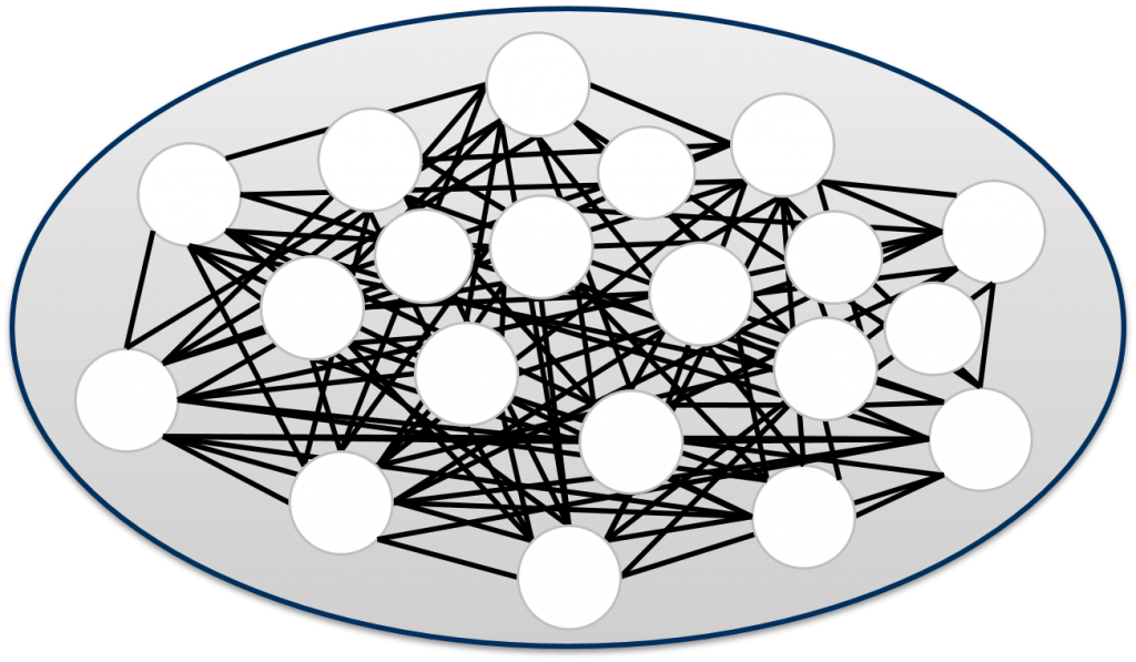 Network structure at Energy Brainpool